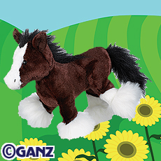 Webkinz - Clydesdale