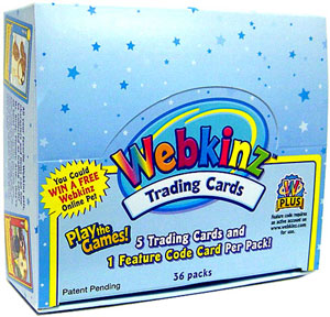 Webkinz Collectible Plush Card Game: 1 Webkinz Trading Card Box (36 Packs)