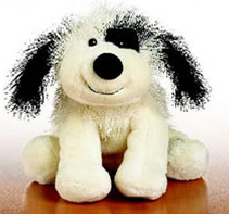 Webkinz - Black and White Cheeky Dog