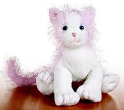 Webkinz - Pink and White Cat HM189