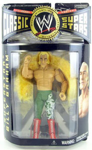 Superstar Billy Graham - Original Green Trunks and Yellow Boa