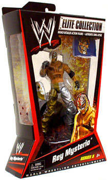 WWE Elite Collection Series 5 - Rey Mysterio Gold and Silver