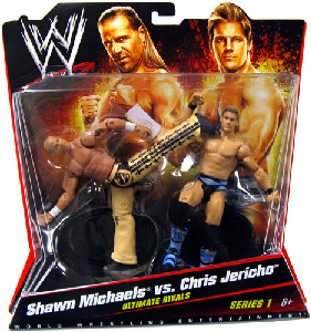 Mattel WWE - 2-Pack: Ultimate Rivals Shawn Michaels vs Chris Jericho