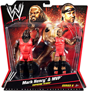 Mattel WWE - 2-Pack: Mark Henry and MVP