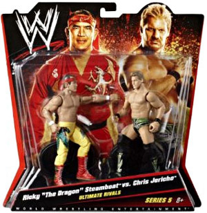 Mattel WWE - 2-Pack: Ultimate Rivals - Ricky The Dragon Steamboat and Chris Jericho