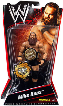 WWE Basic Series 5 - Mike Knox Limited Commemorative Championship Belt