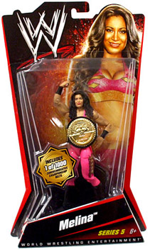 WWE Basic Series 5 - Melina Limited Commemorative Championship Belt