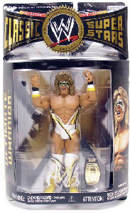 Classic - Ultimate Warrior White Trunks