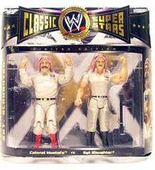 WWE Classic - Colonel Mustafa and Sgt Slaughter