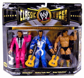 WWE Classic - Rythm and Blues - Jimmy Hart, Honky Tonk Man, Greg Valentine
