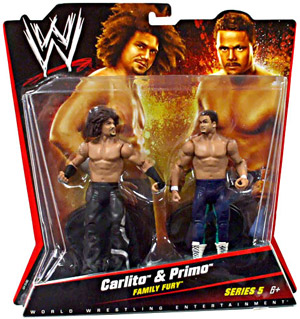 Mattel WWE - 2-Pack: Family Fury - Carlito and Primo