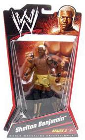 Mattel WWE - Shelton Benjamin