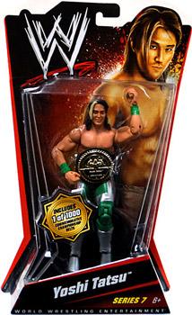 WWE Basic Series 7 - Yoshi Tatsu Limited Commemorative Belt