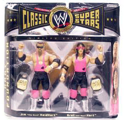 WWE Classic Teams - The Hart Foundation