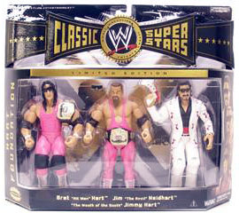 WWE Classic Teams - The Hart Foundation with Jimmy Hart