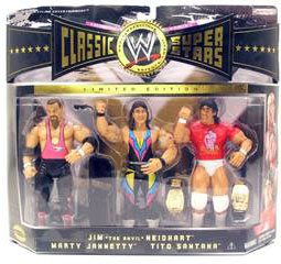 WWE Classic - Jim -The Anvil- Neidhart, Marty Jannetty, Tito Santana