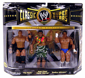 WWE Classic - The Rock, High Chief Peter Maivia, Rocky Johnson
