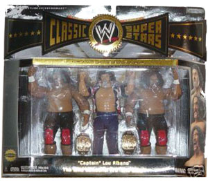 WWE Classic 3-Pack: Captain Lou Albano and The Wild Samoans