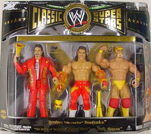 WWE Classic 3-Pack: Jimmy Hart, Brutus Beefcake, Hulk Hogan