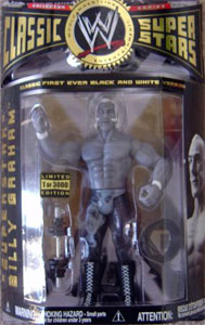 Limited Edition - Superstar Billy Graham Black and White