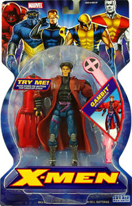 New X-Men: Gambit with Disk Shooter