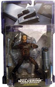 X-Men United - Super Poseable Wolverine