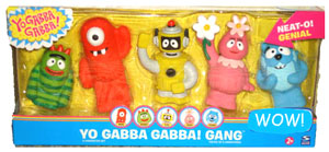 Yo Gabba Gabba - Gang Box Set