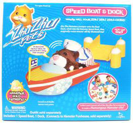 Zhu Zhu Pets Hamster - Speed Boat and Dock [Hamster NOT Included]