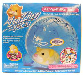 Zhu Zhu Pets Hamster - Adventure Ball[Hamster NOT Included]