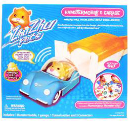 Zhu Zhu Pets Hamster -Hamstermobile and Garage[Hamster NOT Included]