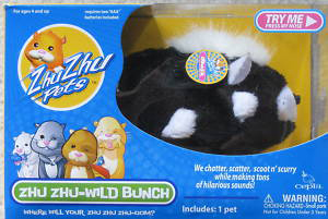 Zhu Zhu Pets Wild Bunch - Stinker Skunk