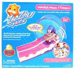 Zhu Zhu Pets Hamster -Hamster Wheel and Tunnels [Hamster NOT Included]