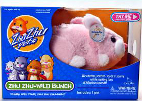 Zhu Zhu Pets Wild Bunch - Sweetie Bunny