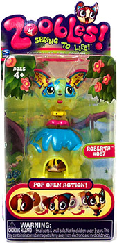Zoobles Petagonia Animal Mini Roberta 087