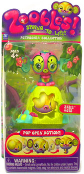 Zoobles Petagonia Animal Mini Zeke 012