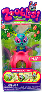 Zoobles Petagonia Animal Mini Le Bun 009