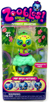 Zoobles Petagonia Animal Mini Birdadette 011