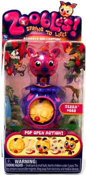 Zoobles Azoozia Animal Mini Jebra 089