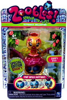 Zoobles Petagonia Animal Mini Special Edition Shiny Zippy 111