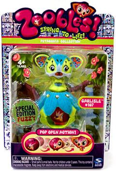 Zoobles Petagonia Animal Mini Special Edition Fuzzy Carlisle 107